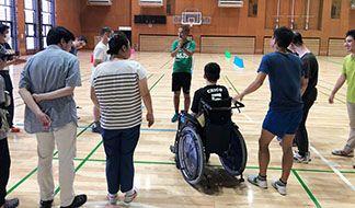 障がい者スポーツ体験教室:画像